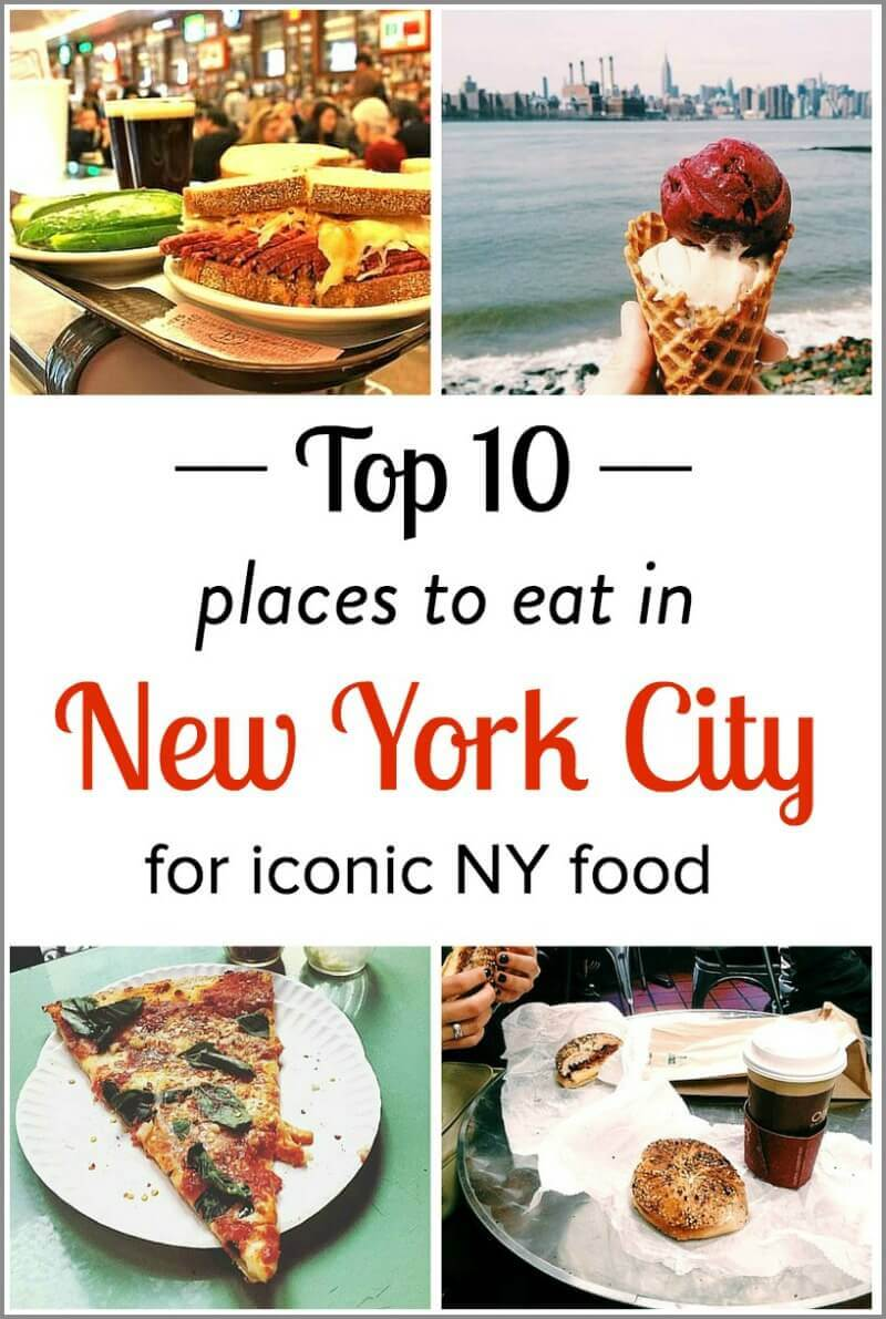 10 iconic places to eat in nyc for Best warm places to visit in november